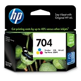 HP Tri-color Ink Cartridge 704 [CN693AA] - Tinta Printer HP